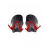 speedo Tech Paddles Red/Grey